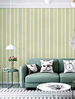 cheap -Wallpaper Nonwoven Wall Covering - Adhesive required Floral / Botanical
