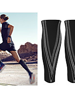cheap -Leg Sleeves Calf Support Calf Compression Sleeves Sporty for Running Marathon Exercise & Fitness Moisture Wicking Elastic Breathable Men's Women's Polyester / Polyamide Spandex Fabric 1 Pair Sports