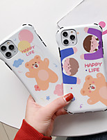 cheap -Case For Apple iPhone 11 / iPhone 11 Pro / iPhone 11 Pro Max Shockproof / Ultra-thin / Pattern Back Cover Animal / Cartoon PC