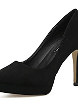 cheap -Women's Heels Stiletto Heel Pointed Toe Synthetics Sweet / Minimalism Fall / Spring & Summer Black / Green / Coffee / Party & Evening