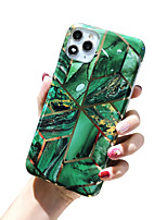 cheap -Case For Apple iPhone 11 / iPhone 11 Pro / iPhone 11 Pro Max Shockproof / Dustproof / Ultra-thin Back Cover Glitter Shine / Marble TPU