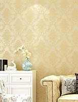 cheap -Flower Pattern PVC Self-adhesive Wallpaper Floral / Botanical / Art Deco / Decorative Wall Sticker