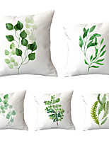 cheap -5 pcs Throw Pillow Simple Classic 45*45 cm  Car Waist Pillow Sofa cushion cover flannelette printing creative Home Office cushion