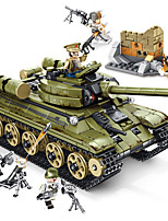 cheap -Building Blocks 689 pcs Military compatible Legoing Simulation Tank All Toy Gift / Kid's