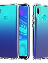 cheap -Case For Huawei Honor 10 Lite / Huawei Honor 8A / Huawei Y6 Pro (2019) Transparent Back Cover Transparent TPU / PC