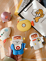cheap -Case For AirPods Cute / Shockproof / Dustproof Headphone Case Soft