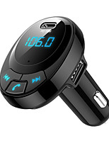cheap -BT09 Car FM Transmitter Bluetooth 5.0 MP3 Player PD Fast Charging 2 USB Adapter Car Accessories Interior