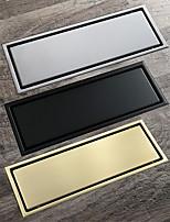 cheap -Insert Tile 30x11cm Stainless Steel Rectangle Floor Drain Bathroom Anti Odor Drain Brushed / Black / Brushed Gold