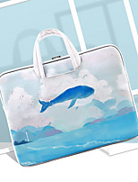 cheap -LITBest Whale 14 Inch Laptop / 15.6 Inch Laptop Sleeve / Briefcase Handbags Polyester / Cotton Blend / Nylon Fiber Leaf / Animal Unisex Water Proof Shock Proof