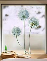cheap -Flower Ball Window Film & Stickers Decoration Matte / Floral Floral / Geometric PVC(PolyVinyl Chloride) Window Sticker / Matte