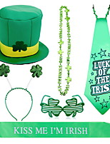 cheap -Irish Lucky St Patrick's Day Pride Hat Costume