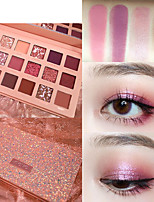 cheap -18 Colors Eyeshadow Matte Eye EyeShadow Cream Kits Easy to Carry Multifunction Easy to Use lasting Shimmer glitter gloss Long Lasting water-resistant Daily Makeup Halloween Makeup Party Makeup