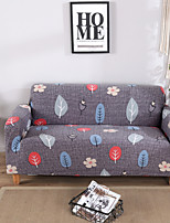 cheap -Sofa Cover Plants / Romantic / Contemporary Printed Polyester Slipcovers