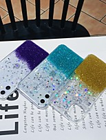 cheap -Case For Apple iPhone 11 / iPhone 11 Pro / iPhone 11 Pro Max Shockproof / Glitter Shine Back Cover Solid Colored / Glitter Shine TPU