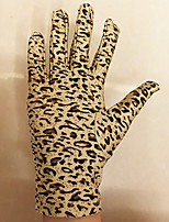 cheap -Cat Leopard Elastane Gloves For Prom Party / Cocktail Halloween Carnival Women's Costume Jewelry Fashion Jewelry