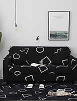 cheap -Sofa Cover Geometric / Print / Contemporary Printed Polyester Slipcovers