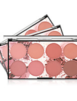 cheap -8 Colors Dry / Matte Brightening / Casual / Daily / Convenient Cosmetic China Sweet / Fashion Kits / Women / Youth Wedding / Birthday / Casual Quadrate Makeup Cosmetic Glitter