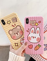cheap -Case for iPhone 11 Cute Cartoon Design Protective Fashion Fun Cover Skin Teens Cases for iPhone 6 / iPhone 7/ iPhone 11 pro
