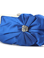 cheap -Women's / Girls' Flower / Embossed Synthetic / Alloy Clutch Geometric Pattern Black / Blue