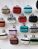 cheap -Crocodile Pattern Case For AirPods Pro Shockproof / Dustproof / Cool Headphone Case Soft