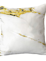 cheap -1 pcs Polyester Pillow Cover Simple Modern Modern New Chinese Style SOFA With Marble Grain Gold Texture Throw Pillow Light Luxury Lay-out Style Pillow Cover Throw Without Core