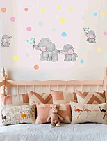 cheap -Decorative Wall Stickers - Plane Wall Stickers Animals / Hearts Nursery / Kids Room