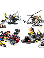 cheap -Building Blocks 155-181 pcs Military compatible Legoing Simulation Plane Boat Climbing Car All Toy Gift / Kid's