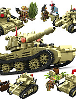 cheap -Building Blocks 147-161 pcs Military compatible Legoing Simulation Tank All Toy Gift / Kid's