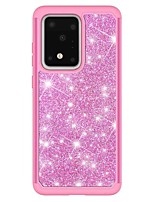 cheap -Case For Samsung Galaxy S20 / S20 Plus / S20 Ultra Shockproof / Pattern Back Cover Solid Colored / Glitter Shine TPU / PC for A50(2019) / A40(2019) / A30(2019) / Note 10 Pro