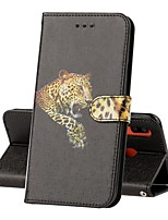 cheap -Case For Samsung Galaxy Galaxy A50(2019) / Samsung Galaxy A40(2019) / Samsung Galaxy A90(2019) Wallet / Card Holder / with Stand Full Body Cases Animal / Panda PU Leather