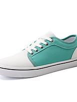cheap -Men's Comfort Shoes Mesh Fall & Winter Sneakers Color Block Black / White / Green