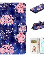 cheap -Case For Samsung Galaxy A6 (2018)/A7(2018) / A8 2018 Wallet / Card Holder / with Stand Full Body Cases Flower PU Leather For Galaxy A10S/A20S/A30S/A50S/Note 10 Plus/J6 Plus/J4 Plus/Note 10