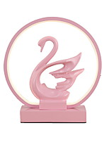 cheap -Swan Design Decor Light Night Light USB Powered Staycation Creative Elegant Graceful Light Pink Home Decoration1pc