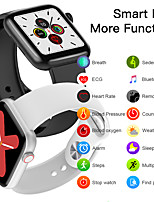 cheap -W75 Smartwatch IP68 Waterproof Full Touch Screen Heart Rate ECG Blood Pressure Oxygen BT Control Smart Watch