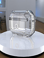 cheap -Case For AirPods Pro Cute / Transparent / Cool Headphone Case Hard