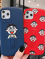 cheap -Soft Silica Gel Case for iPhone X Fun CartoonFashion Cool Cover Skin Teens Boys Girls Cases for iPhone 6 / iPhone 7/ iPhone 11 pro / Shockproof / Dustproof with Stand