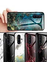 cheap -Case For Vivo Vivo Y67 / Vivo X20 Plus / Vivo X20 Shockproof / Dustproof / Ultra-thin Back Cover Marble Tempered Glass