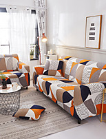 cheap -Geometric Print 1-Piece Sofa Cover Couch Cover Furniture Protector Soft Stretch Slipcover Spandex Jacquard Fabric Super Fit for 1~4 Cushion Couch and L Shape Sofa,Easy to Install(1 Free Cushion Cover)