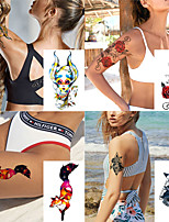 cheap -1 pcs Temporary Tattoos Water Resistant / Waterproof / Safety / Best Quality Face / Body / Hand Water-Transfer Sticker Body Painting Colors