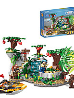 cheap -Building Blocks 770 pcs Cartoon compatible Legoing Simulation All Toy Gift / Kid's