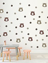 cheap -Cute Decorative Wall Stickers - Plane Wall Stickers Animals Nursery / Kids Room