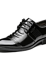 cheap -Men's Formal Shoes Synthetics Spring / Fall & Winter Business / Classic Oxfords Non-slipping Black / Brown