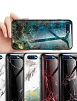 cheap -Case For OPPO OPPO Reno2 / OPPO Reno2 Z / OPPO R11 Plus Shockproof / Ultra-thin / Pattern Back Cover Marble Tempered Glass