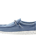 cheap -Men's Comfort Shoes Canvas Fall & Winter Loafers & Slip-Ons Blue