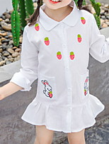 cheap -Kids Girls' Fruit Dress White