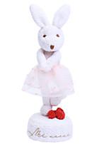 abordables -Boîte à musique Rabbit Mignon En chantant Adorable Carcasse de plastique 1 pcs Enfant Tous Jouet Cadeau