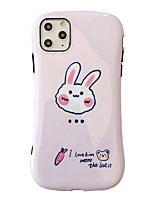 cheap -iPhone 11 Pro Max Cute Case FGA Couples Funny Bear Rabbit Cute Lightweight Protective Slim Fit Flexible Soft TPU Bumper Gel Case Cover for iPhone 11 Pro Max / iPhone 11 / iPhone 11 Pro