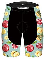 cheap -21Grams Women's Cycling Shorts Bike Pants / Trousers Padded Shorts / Chamois Bottoms 3D Pad Quick Dry Ultraviolet Resistant Sports Fruit Black / Blue Mountain Bike MTB Road Bike Cycling Clothing