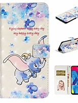 cheap -Case For Samsung Galaxy A10/A30/A50 Wallet / Card Holder / with Stand Full Body Cases Animal PU Leather For Galaxy M10/A20/A40/A70/A80/A90/A20E