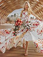 cheap -Gypsy Adults' Women's Bohemian Boho Dress For Party Polyster Floral Print Halloween Carnival Dress